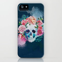 Awesome Hippie Skull iPhone Case