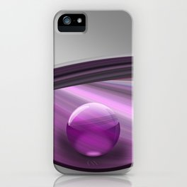Lilac Ball  iPhone Case