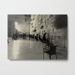 Western Wall - Israel Metal Print