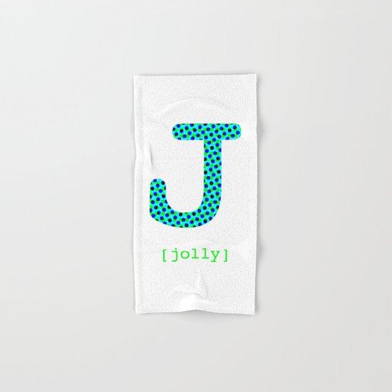 #J [jolly] Hand & Bath Towel