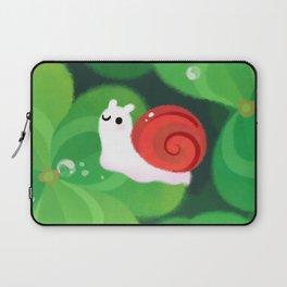 Happy lucky snail Laptop Sleeve