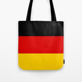 German flag - High Quality version both in scale and color Tote Bag