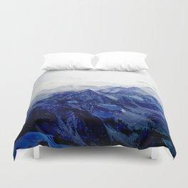 Blue Mountain 2 Duvet Cover