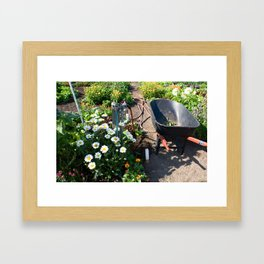 Garden Still Life Framed Art Print