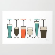 Pick Your Poison Art Print