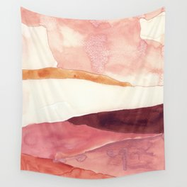 Abstract Love, Peace and Hope, Contemporary Fine Art Wall Tapestry