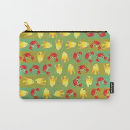 Crabs and fish Carry-All Pouch