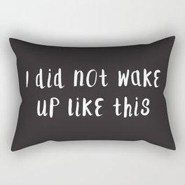Sorry, B Rectangular Pillow