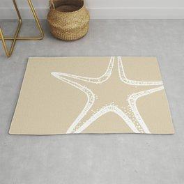 Starfish Sand Tan Beige Rug