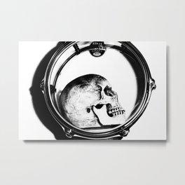 Head Bang Metal Print