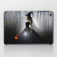 witch iPad Cases featuring Witch by Julie Hoddinott