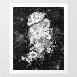 Magic Ocean: The Jellyfish Art Print
