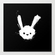 minima - splatter rabbit  Canvas Print