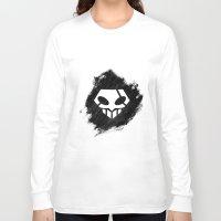bleach Long Sleeve T-shirts featuring Bleach BW 4 by Bradley Bailey