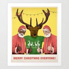 mery christmas! Art Print