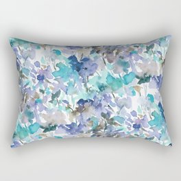 Local Color Blue Mint Rectangular Pillow