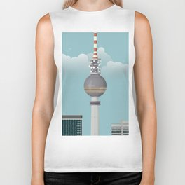 Berlin | Retro Travel Poster Biker Tank