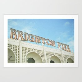 Brighton Lights Art Print
