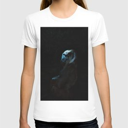 Humanity - Mountain Gorilla in Moonlight T-shirt