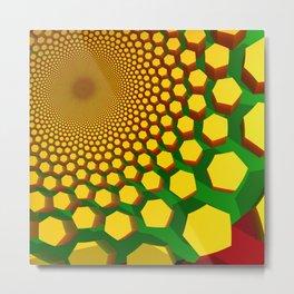 Sun Hive Metal Print