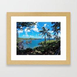 Wai' anapanapa State Park Framed Art Print