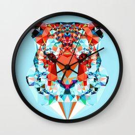 Geometric Tiger Wall Clock