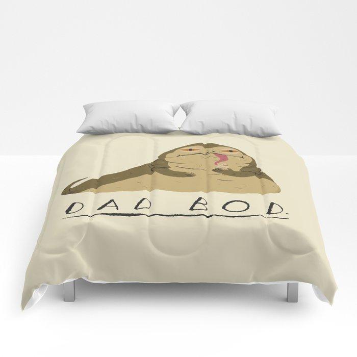 ffdb9b59 dad bod Comforters by louisroskosch | Society6