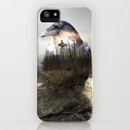 Raven's spirit iPhone Case