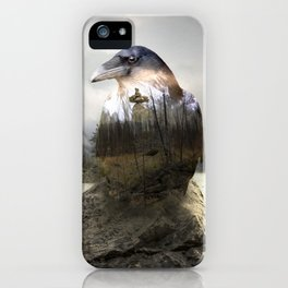 Raven's spirit iPhone Case