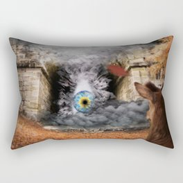 The lost truth Rectangular Pillow