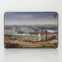 russia iPad Cases featuring Saint Petersburg , Russia by LudaNayvelt