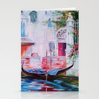 venice Stationery Cards featuring Venice by OLHADARCHUK