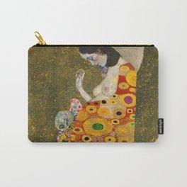 "Gustav Klimt ""Hope II"" Carry-All Pouch"