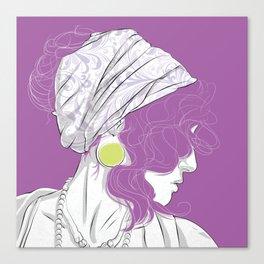 Profilo Canvas Print