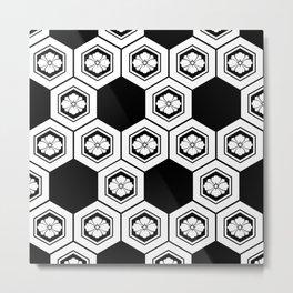 Hanabishi-Pattern, japan, Japanese Metal Print