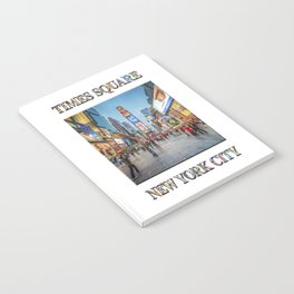 Times Square Sparkle (with typography) Notebook