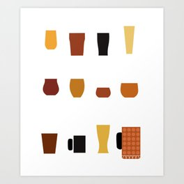 Craft Beer Beer Brewer Ipa Beer Microbrewing Art Print