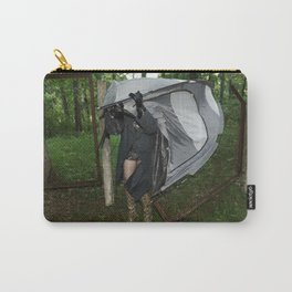 It's a Matter of Fact that it Always Rains on Tents Carry-All Pouch