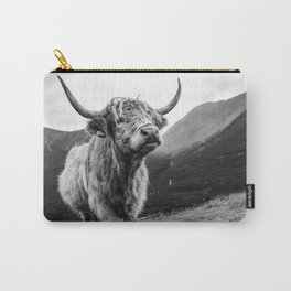 The Highland Coo Carry-All Pouch