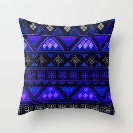 Boho Geometric Pattern Var. 2 Throw Pillow