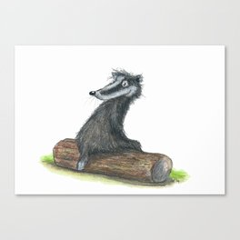 Badgers Date Canvas Print