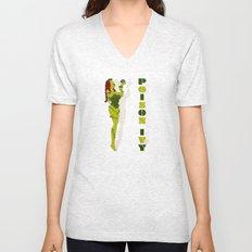 Poison Ivy Unisex V-Neck