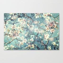 Sparkling cherry blossom tree Canvas Print