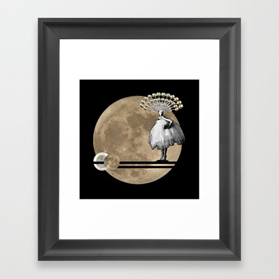 Moon. Child. Framed Art Print
