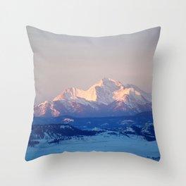 Collegiate Peaks Throw Pillow