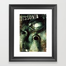 Dissonia Framed Art Print