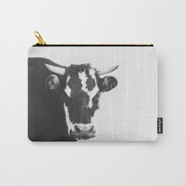Modern Cow Carry-All Pouch