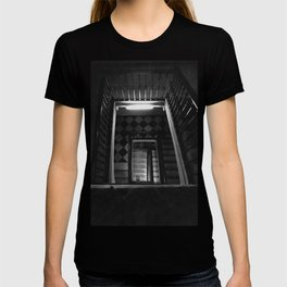 Looking Up - Barcelona Stairwell, Spain T-shirt