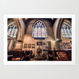 British Church Art Print