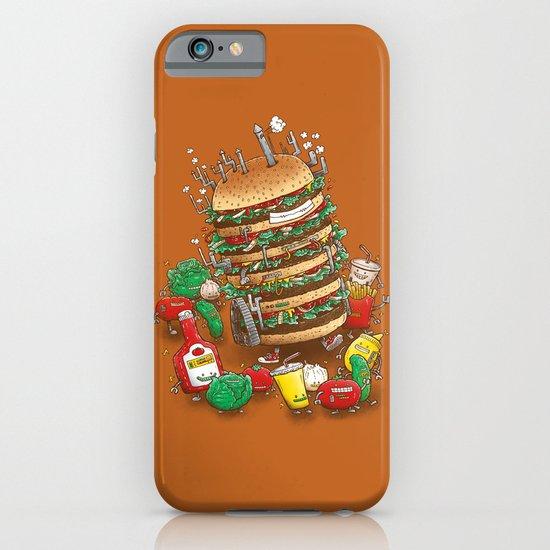 Uber BurgerBot iPhone & iPod Case
